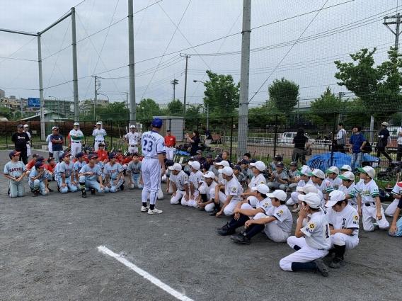 DeNAベイスターズ野球教室